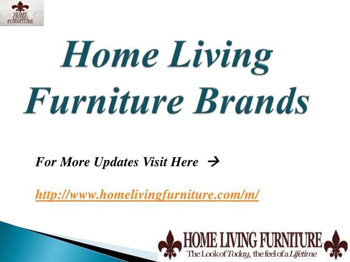 Home living furniture brands