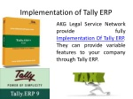 implementation of tally erp