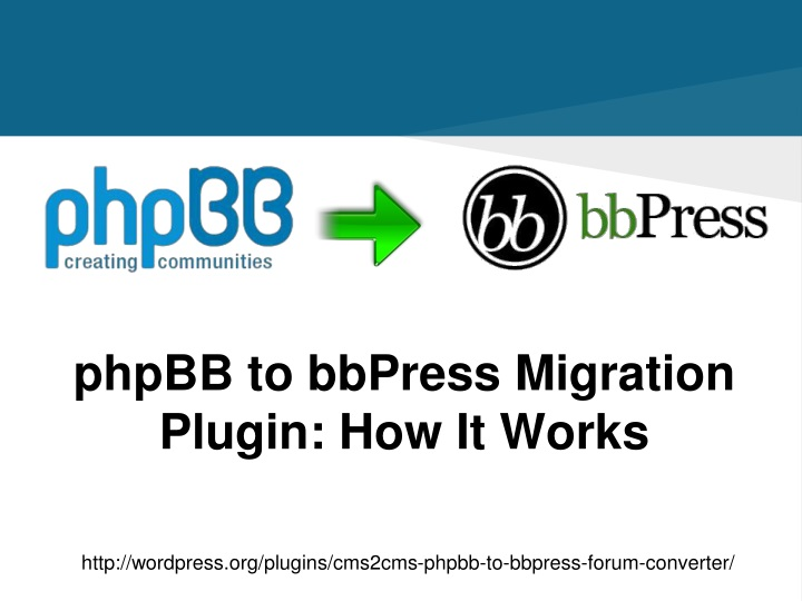 phpbb to bbpress migration plugin how it works n.