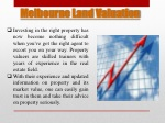 melbourne land valuation