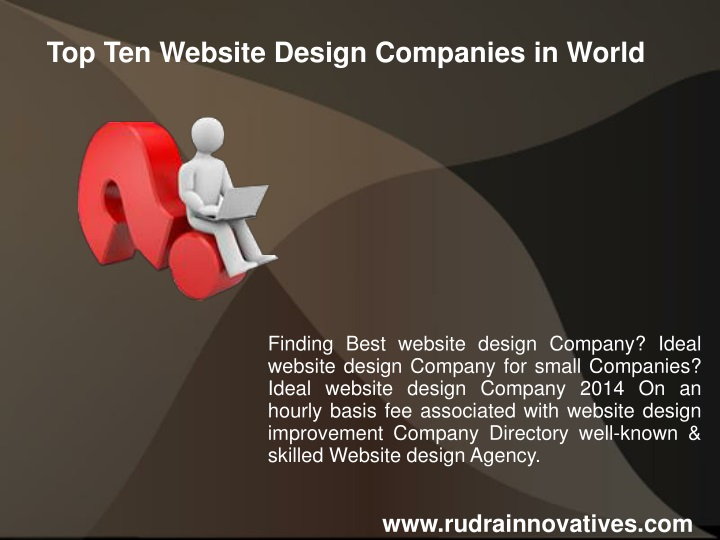 Ppt Top Ten Website Design Companies In World Powerpoint Presentation Id 1500652
