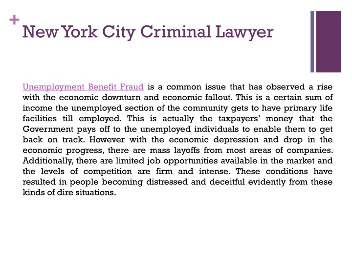 New York City Criminal Lawyer