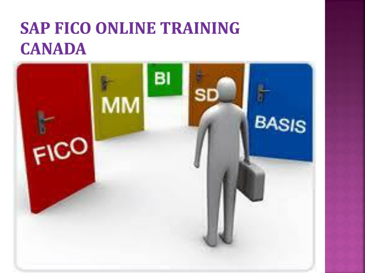 Sap fico online training Canada