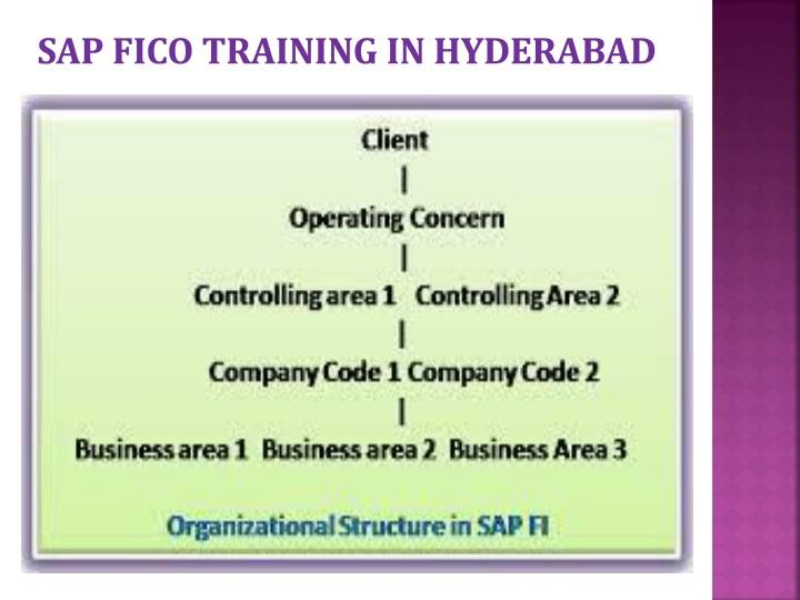SAP FICO TRAINING IN HYDERABAD