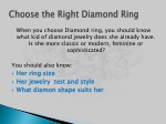 choose the right diamond ring