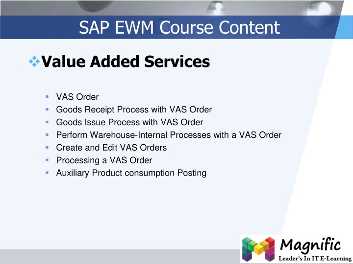 PPT - SAP EWM Online Training SAP Functional Modules in