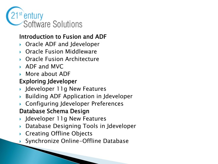PPT - Oracle ADF Training PowerPoint Presentation - ID:1501033