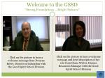 welcome to the gssd strong foundations bright futures