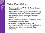 what payroll does