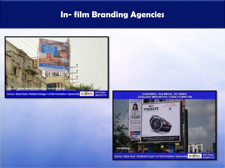 In film branding agencies