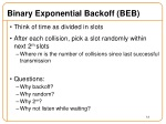 binary exponential backoff beb