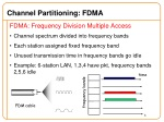 channel partitioning fdma