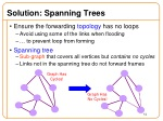 solution spanning trees