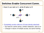 switches enable concurrent comm