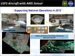 usfs aircraft with ams sensor