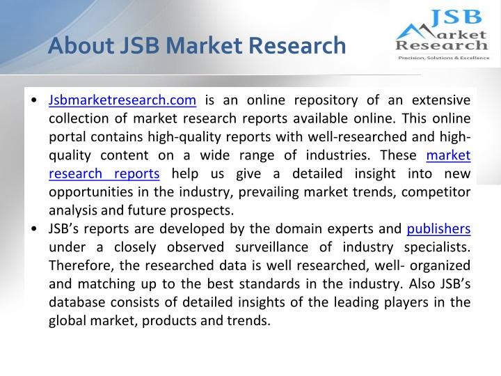 About JSB Market Research