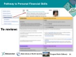 pathway to personal financial skills