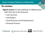 project compass pathways on webjunction