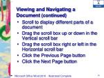 viewing and navigating a document continued1