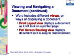 viewing and navigating a document continued2