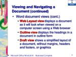 viewing and navigating a document continued3