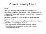 current industry trends