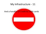 my infrastructure 11