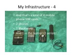my infrastructure 4