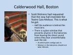 calderwood hall boston