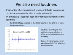 we also need loudness