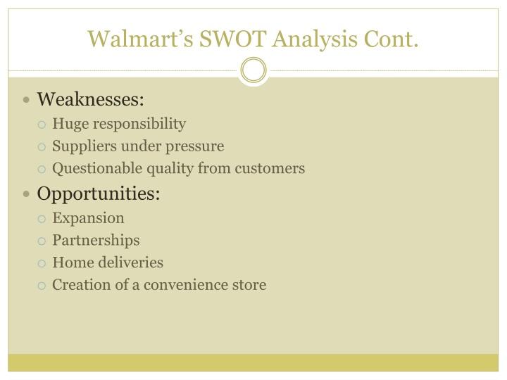 Walmart's