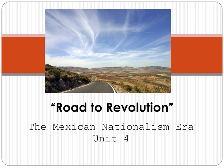 road to revolution n.