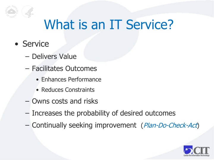 What is an IT Service?