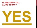 is fascism still alive today