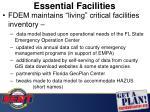 essential facilities