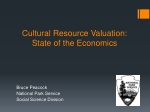 cultural resource valuation state of the economics