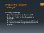 what are the valuation challenges