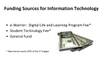 funding sources for information technology