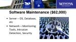 software maintenance 62 000