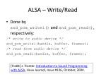 alsa write read