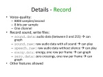details record