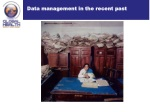 data management in the recent past