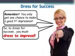 dress for success4