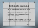 linking to learning