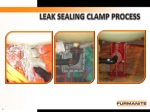 leak sealing clamp process