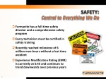 safety central to everything we do