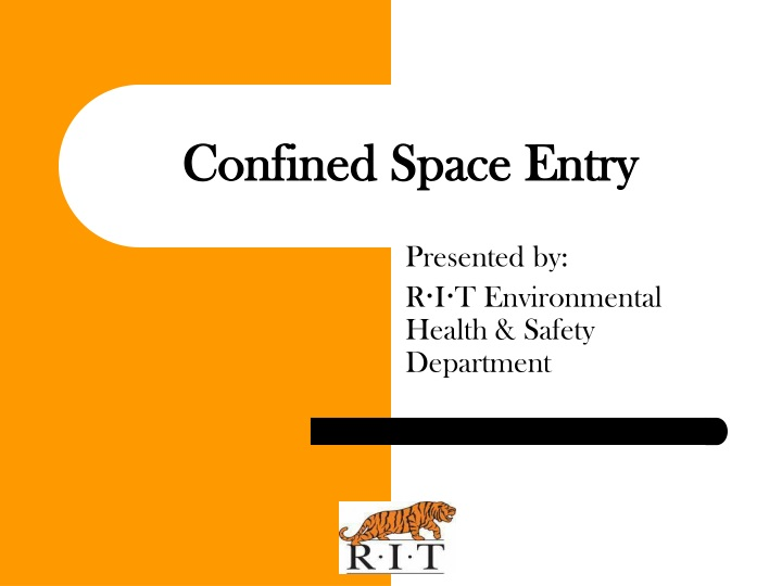 confined space entry n.
