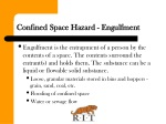 confined space hazard engulfment