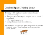 confined space training cont