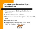 permit required confined space definition cont